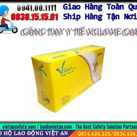 GĂNG TAY Y TẾ VGLOVE CARE